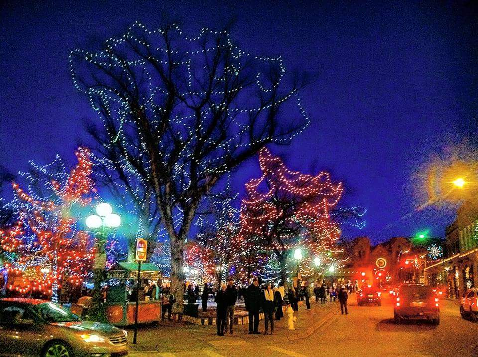 Santa Fe Plaza Christmas Lights 2015 Eldorado In Santa Fe