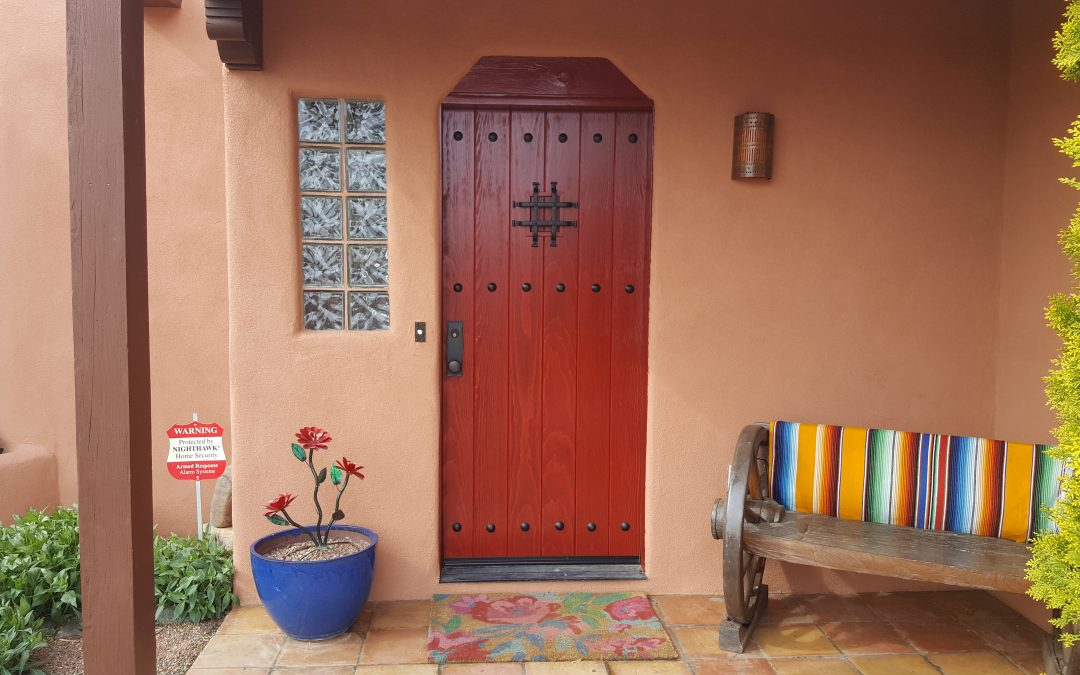 Front door of Eldordo Home